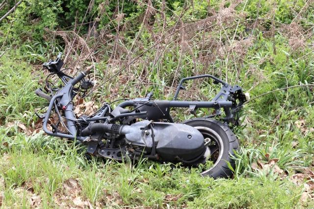 オートバイなどは不用品回収に含まれません